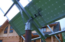 Solar Panels and renewable energy systems are a vital source of power at many Alaska Lodges