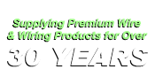 Supplying Premium Wire and Wiring Products for over 25 years